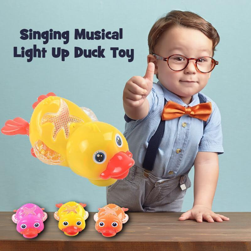 Singing Musical Light Up Duck Toy