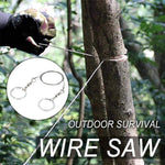Load image into Gallery viewer, Outdoor Survival Wire Saw