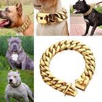 Load image into Gallery viewer, Stainless Steel Dog Chain Collar