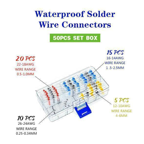 WATERPROOF SOLDER WIRE CONNECTOR KIT【LAST 2 DAYS PROMOTION - 50% OFF】