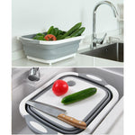 Load image into Gallery viewer, Portable Multi-function Collapsible Dish Tub
