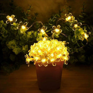 Solar Flower Strings Lights