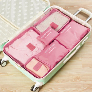 Travel Clothing Storage Bag ( 1 Set, 6 PCs )