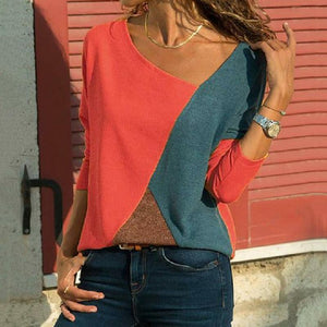 Casual Lady Long-sleeved T-shirt