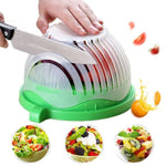 Load image into Gallery viewer, Hirundo Upgraded Salad Cutter Bowl, Green