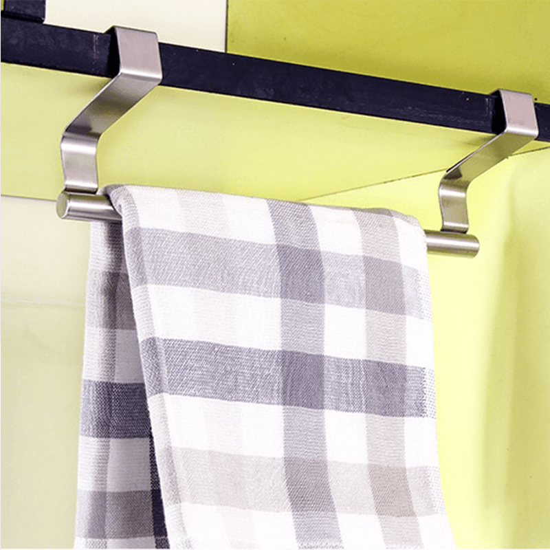 Hirundo Multifunctional Stainless Steel Door Back Towel Rack
