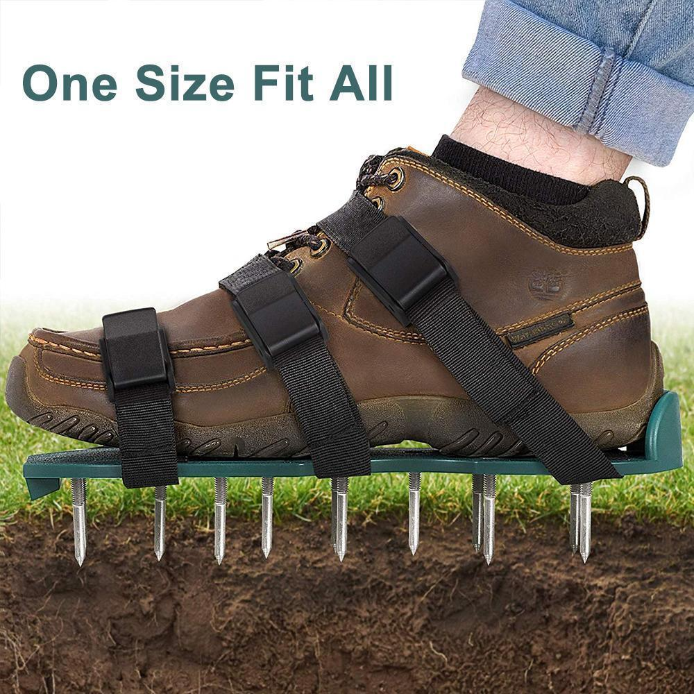 Lawn Aerator Shoes Loose The Soil, 1 Pair