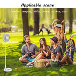 Load image into Gallery viewer, Telescopic Folding USB Charging Fan