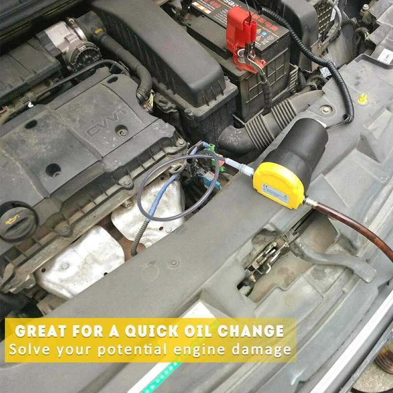 Quick Oil Change Pump