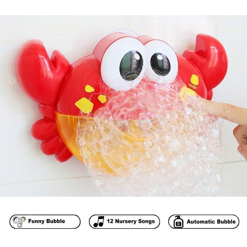 Music Nursery Rhyme Bubble Blower Machine for Toddler