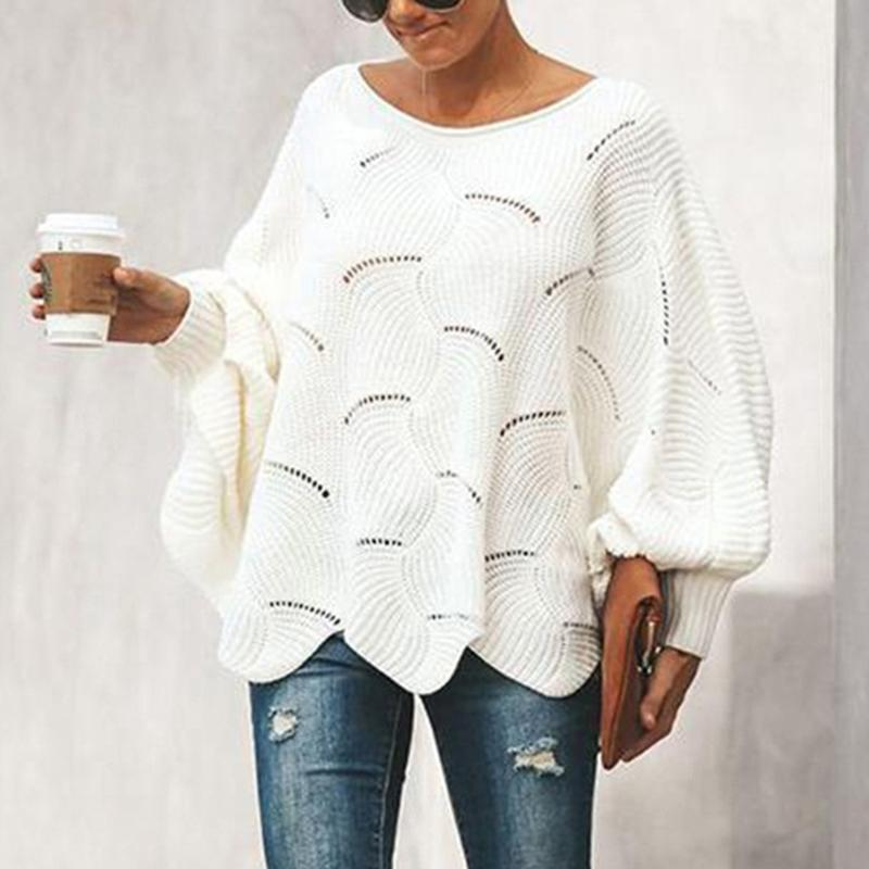 Women Pullover Hollow Out