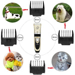 Load image into Gallery viewer, Professional Rechargeable Animal Hair Trimmer