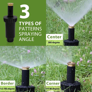 Pop Up Lawn Sprinkler