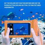 Load image into Gallery viewer, Waterproof Floating Phone Case Pouch