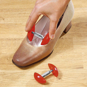 Mini Adjustable Shoe Trees Plastic Women Mini Shoes Keepers Support Care Stretcher Shoe Shapers Shoes Expander Extender