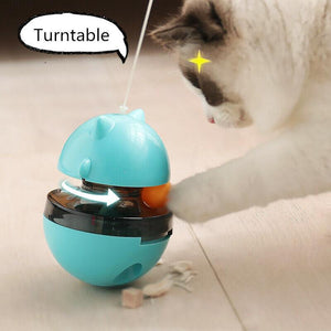 Interactive Cat Tumbler Feeder