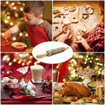 Load image into Gallery viewer, Hirundo Christmas Embossing Rolling Pin