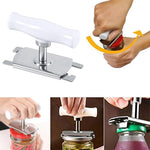Load image into Gallery viewer, Size Adjustable Stainless Steel Can Opener Bottle Tin Cap