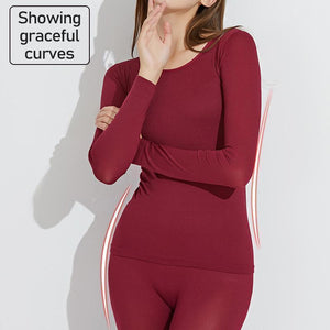 Seamless Elastic Thermal Inner Wear