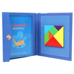 Load image into Gallery viewer, Magnetic Tangram Blocks Puzzle Game