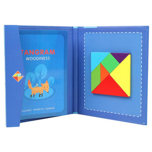 Magnetic Tangram Blocks Puzzle Game