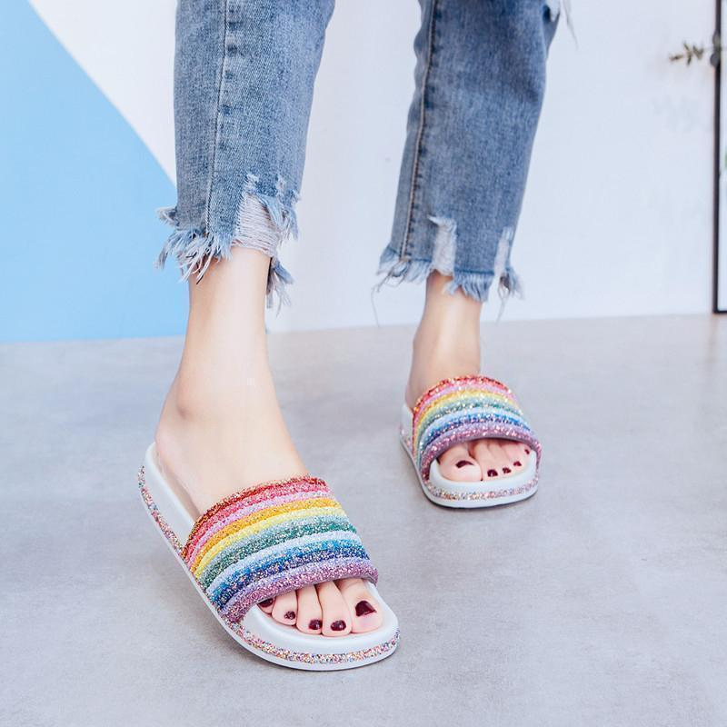 Rainbow Slipper