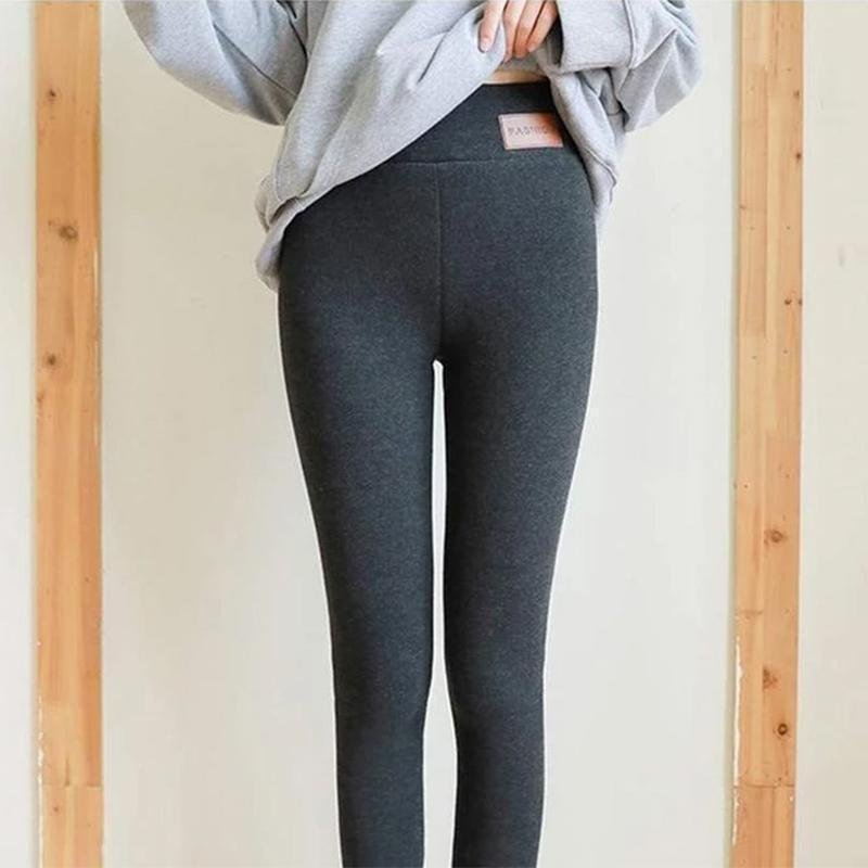 Winter Tight Warm Thick Cashmere Pants