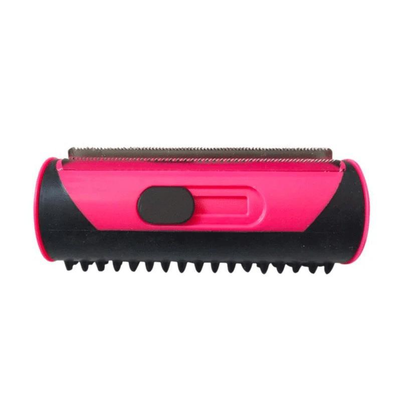 Retractable 3 Blade Brush With Rubber Bristles