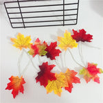 Load image into Gallery viewer, Thanksgiving Décor Fall Maple Leaf String Lights
