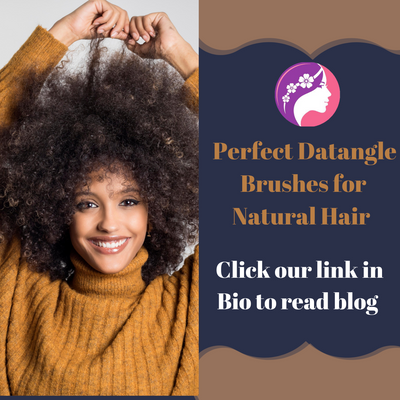 Perfect Detangle Brushes  For Natural Hair