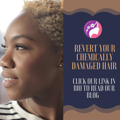 Reverting Your Chemically Damaged Hair To Back to Glory