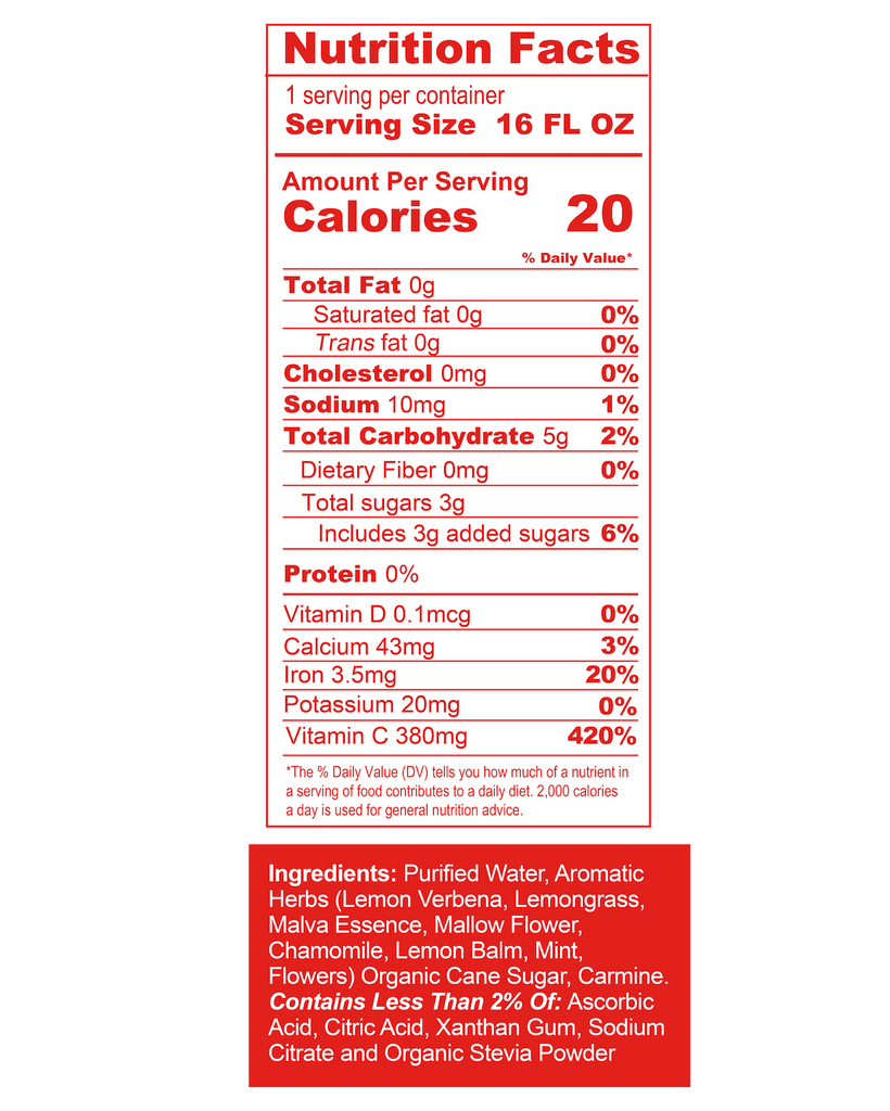 Chiki Chiki Boom Boom Nutrition Facts