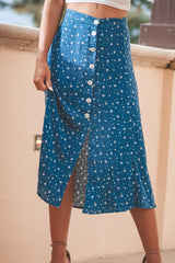 Seville Skirt- Blue
