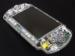 XCM face plate for PSP 3000 series  Crystal