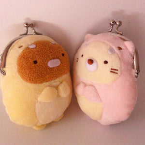 A pair of lovely cat coin purse