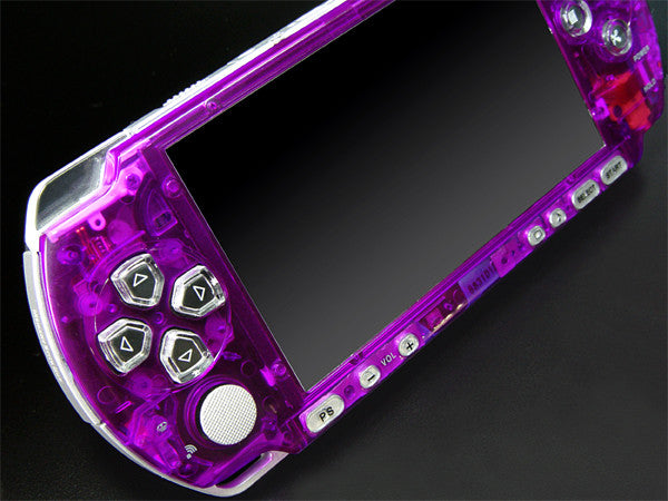 XCM Bling face plate for PSP 3000 series  Crystal Purple