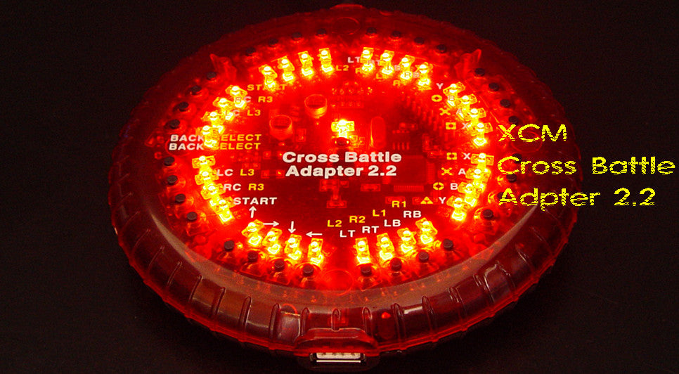 Cross battle adapter 2.2