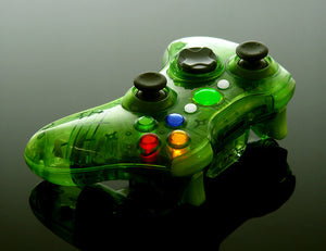 XCM (Crystal Green) wireless controller shell