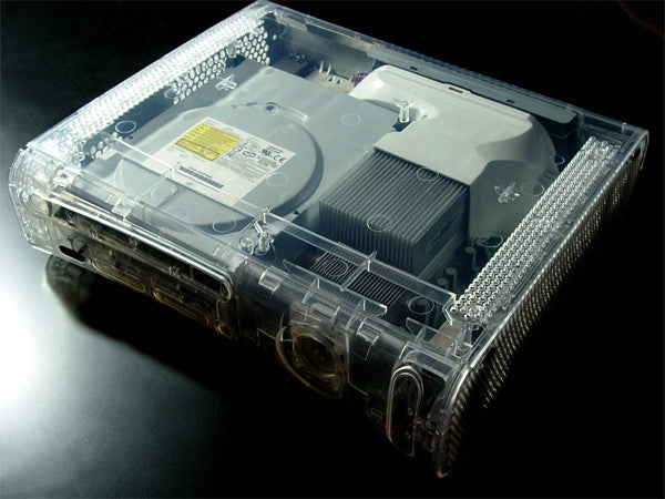 XCM Diamond clear case (FAT) with HDMI port