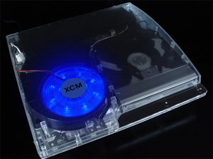 PS 3 slim LED fan - Blue
