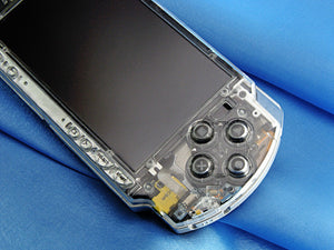 XCM PSP replacement shell 2000 series  Crystal