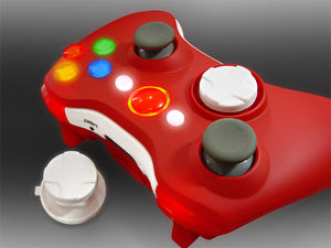 XCM Sexy Red wireless controller shell for xbox 360