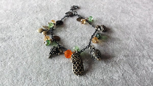 Stylish Bracelet-Vintage fruit theme charm bracelet
