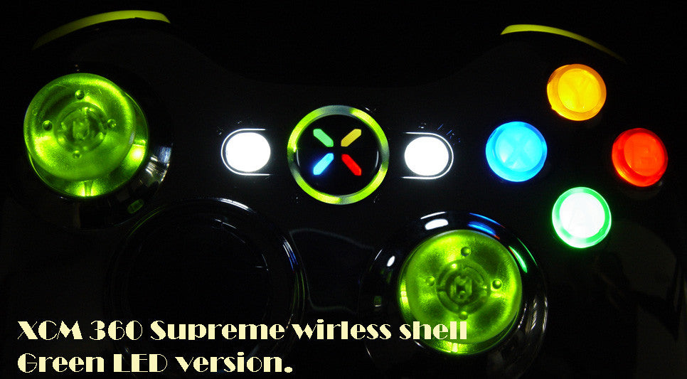 XCM supreme wireless shell  Chrome/Lime
