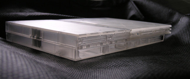 XCM PS 2 slim replacement case-Crystal clear