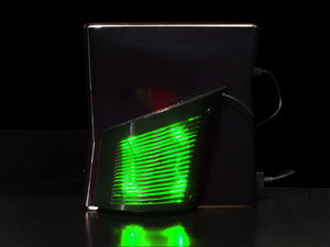 Wing fan -Green LED