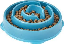 Image of dietetic friendly dog food slow feeder bowl 1