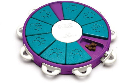 Image of puzzle feeder that works with dietetic friendly dog food