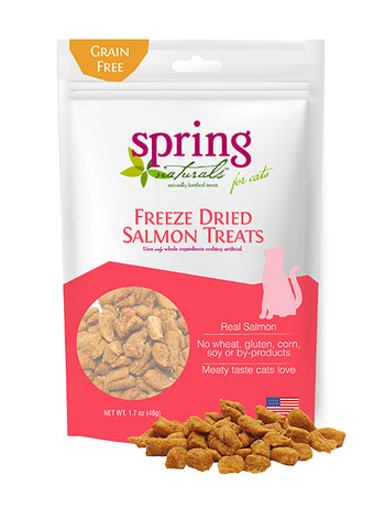 Freeze-Dried Wild Alaskan Salmon Cat Treats