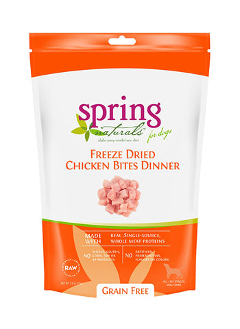 Grain Free Freeze-Dried Chicken Bites Dinner